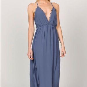 Slate maxi dress